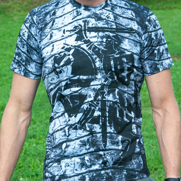 Sportiniai Marškinėliai - Vytis armour (2)