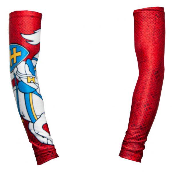 Kompresinė rankovė - Šarvai Istorinis Vytis (raudona)